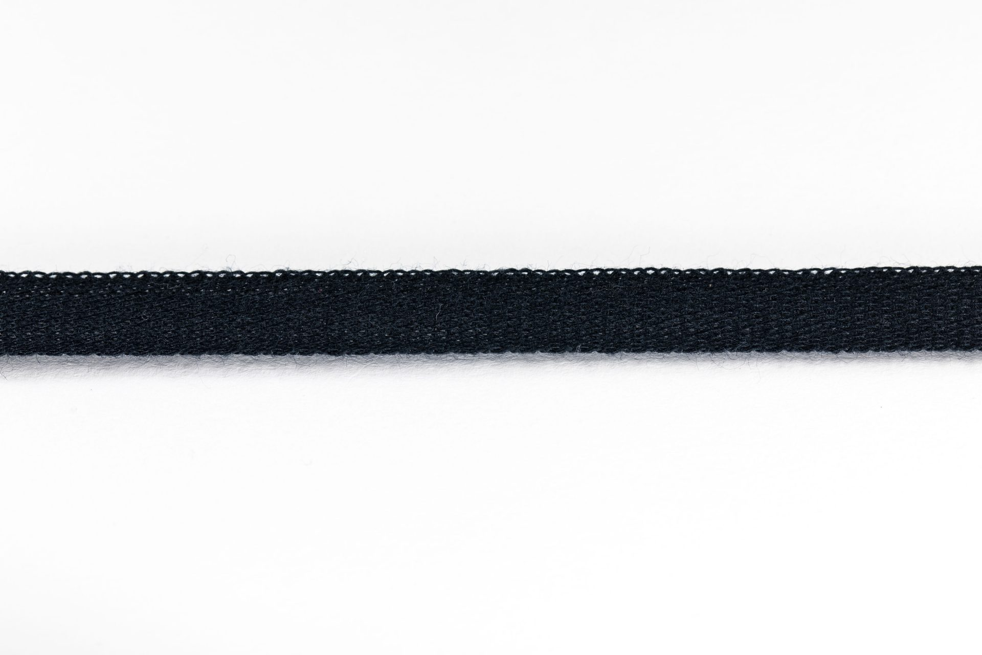 9mm Black Cotton Tape