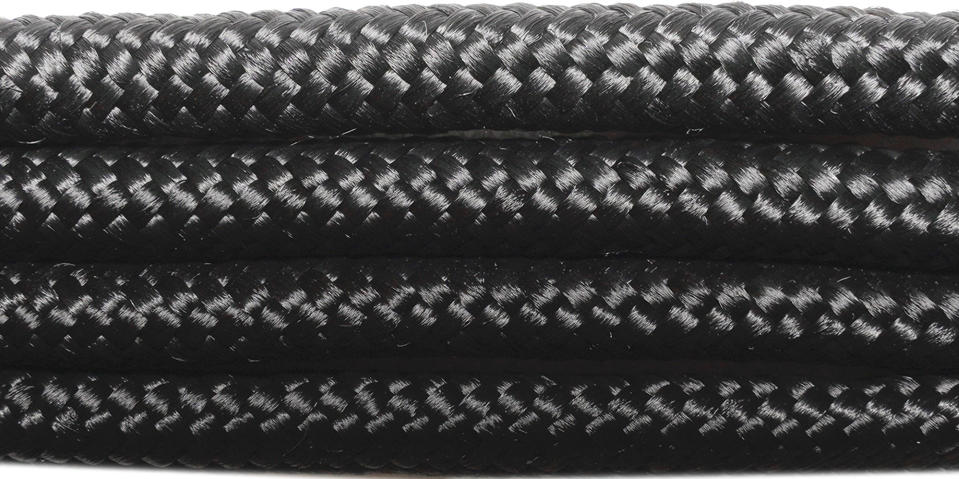 PBC8 black polypropylene 8mm braided cord