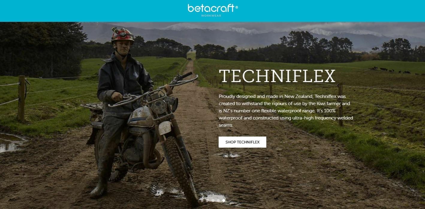 Betacraft, Techniflex, featuring Cordall